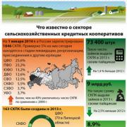 Инфографика. Что известно о секторе СКПК