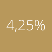 Банк России снизил ключевую ставку до 4,25%