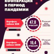 ИНФОГРАФИКА Кредитная кооперация в период пандемии